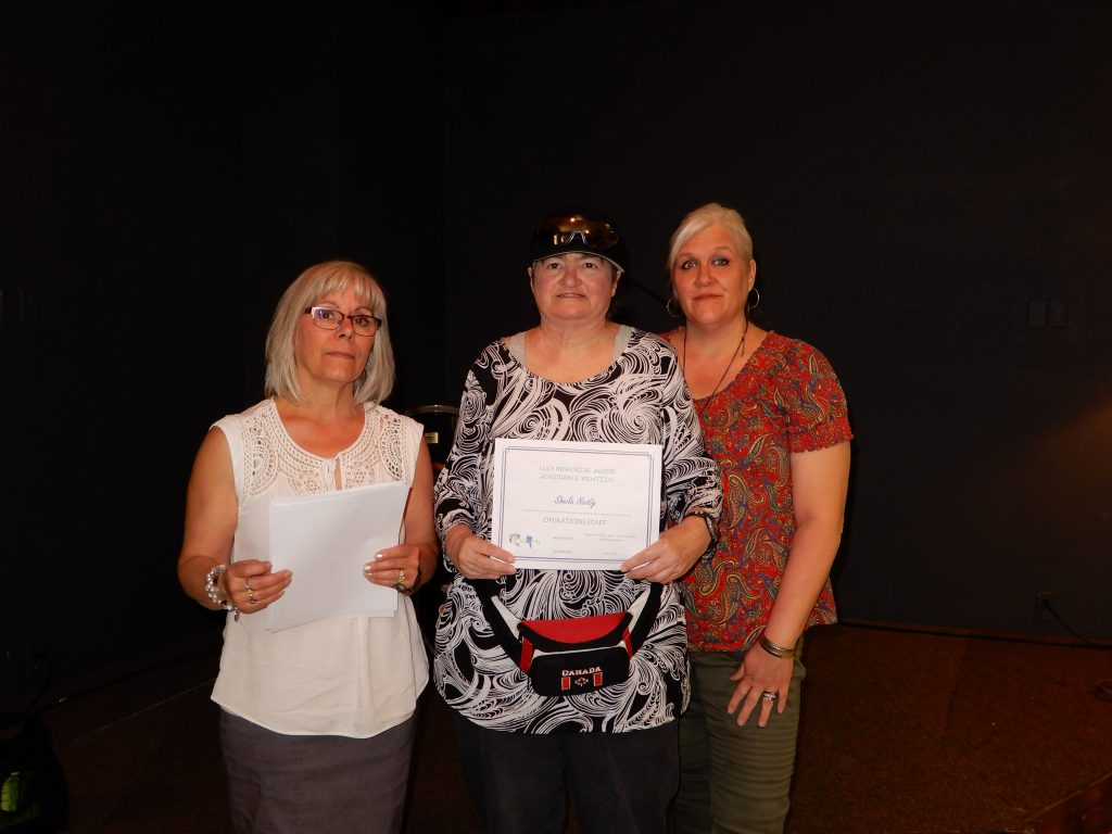 Lucy Memorial Award Honorable Mention ''Sheila Neidig''