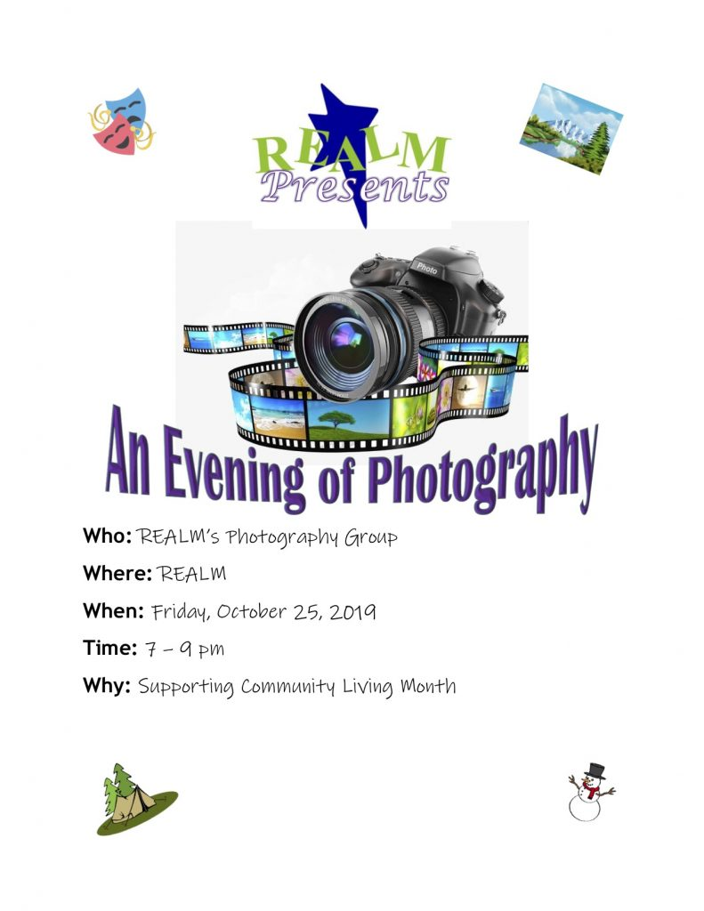 2019 REALM Photography Group Showcase Flyer