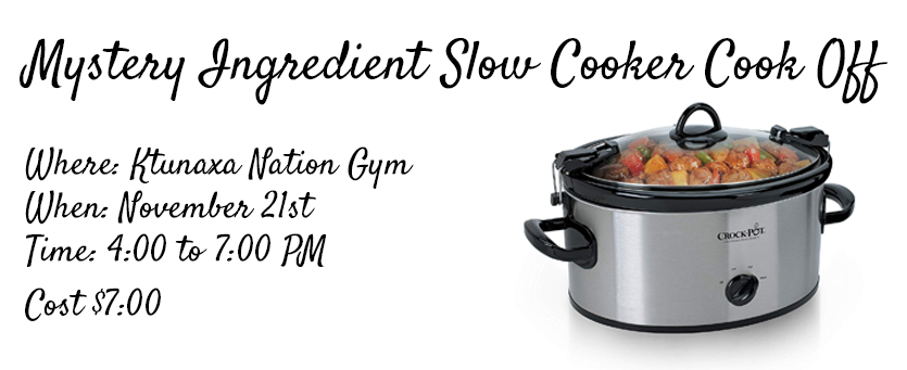 REALM Slow Cooker Cook off banner