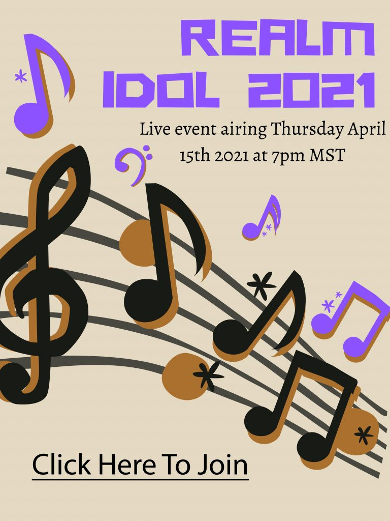 Realm Idol 2021 Poster